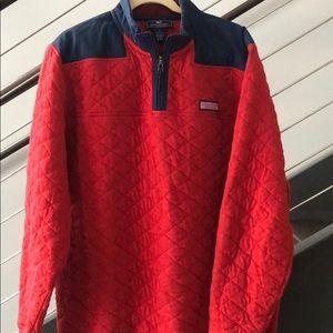 Vineyard Vines Men's Large 1/4 Jacket / Sweater